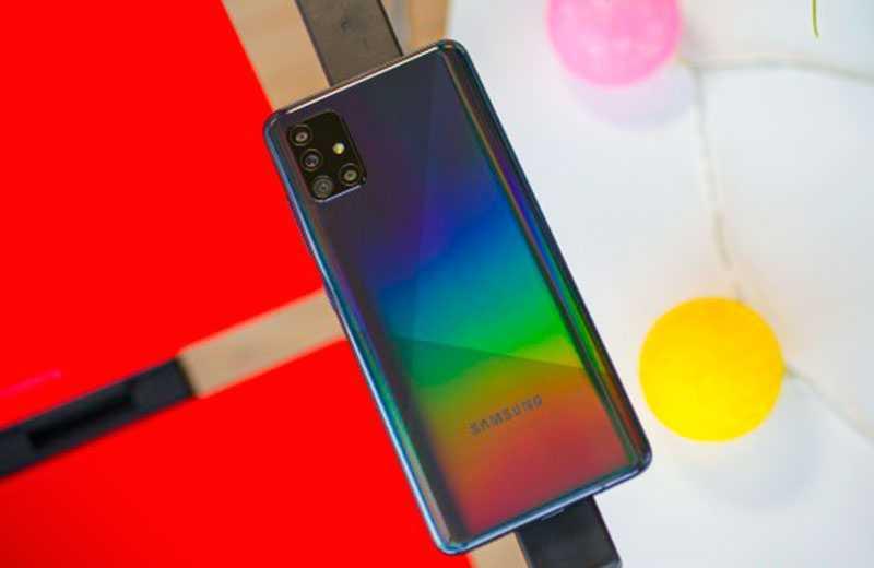 Samsung Galaxy A51 автономность