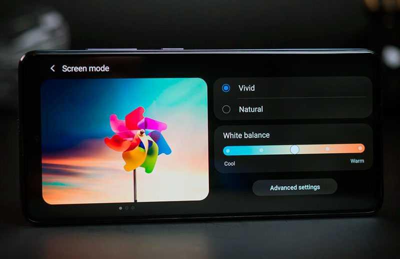 Samsung Galaxy A51 дисплей