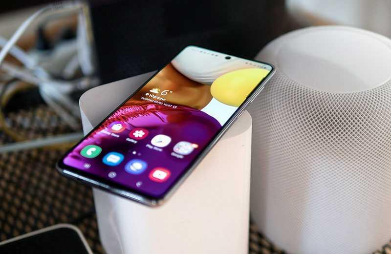 Обзор Samsung Galaxy A71
