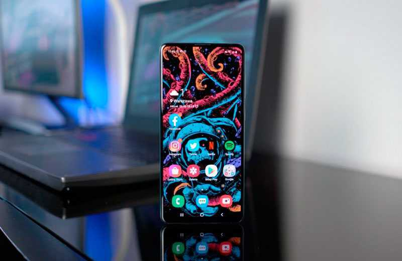Samsung Galaxy A71 ОС