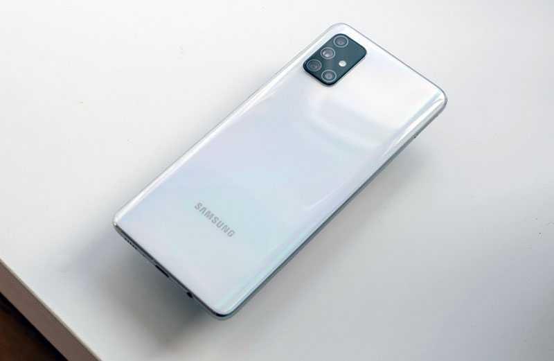 Samsung Galaxy A71 производительность
