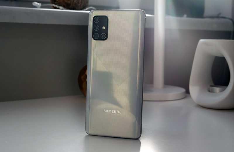 Samsung Galaxy A71 отзывы