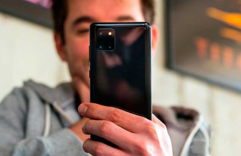 Samsung Galaxy Note 10 Lite камера