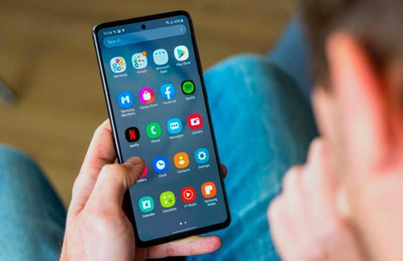 Samsung Galaxy Note 10 Lite ОС