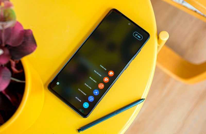 Samsung Galaxy Note 10 Lite производительность