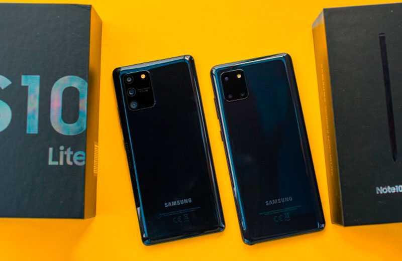 Характеристики Samsung Galaxy Note 10 Lite