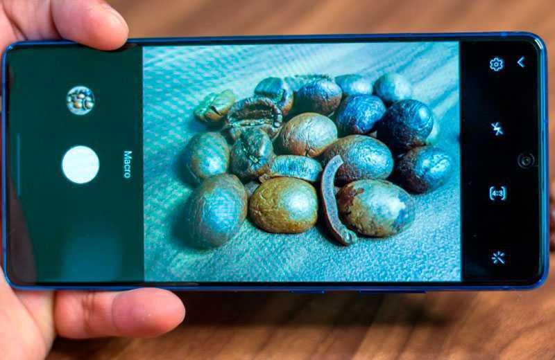 Samsung Galaxy S10 Lite стабилизация