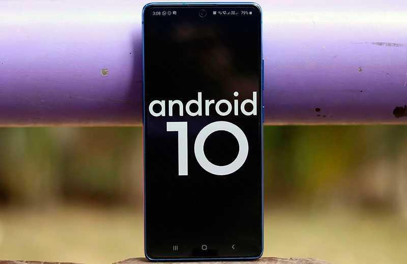 Samsung Galaxy S10 Lite ОС