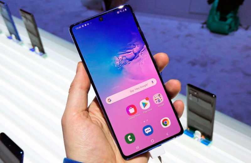 Samsung Galaxy S10 Lite отзывы