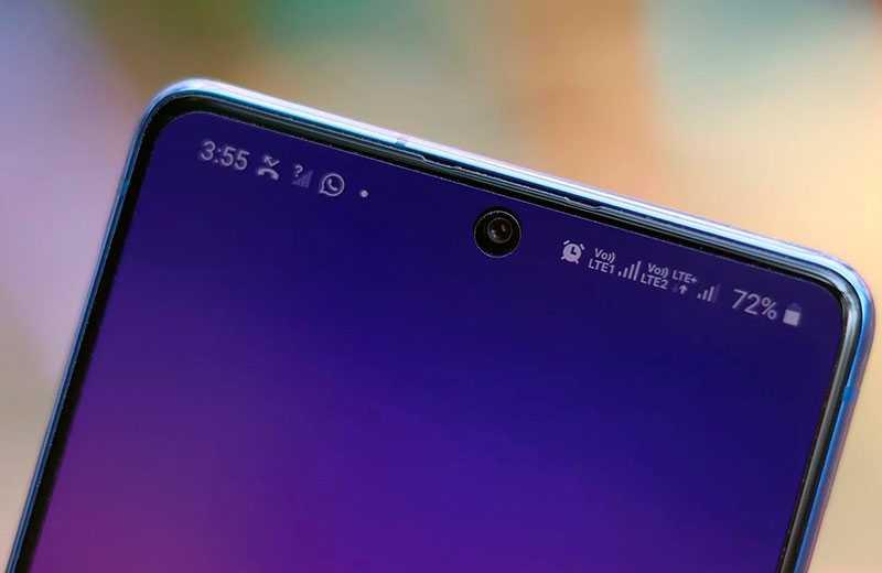 Samsung Galaxy S10 Lite дисплей