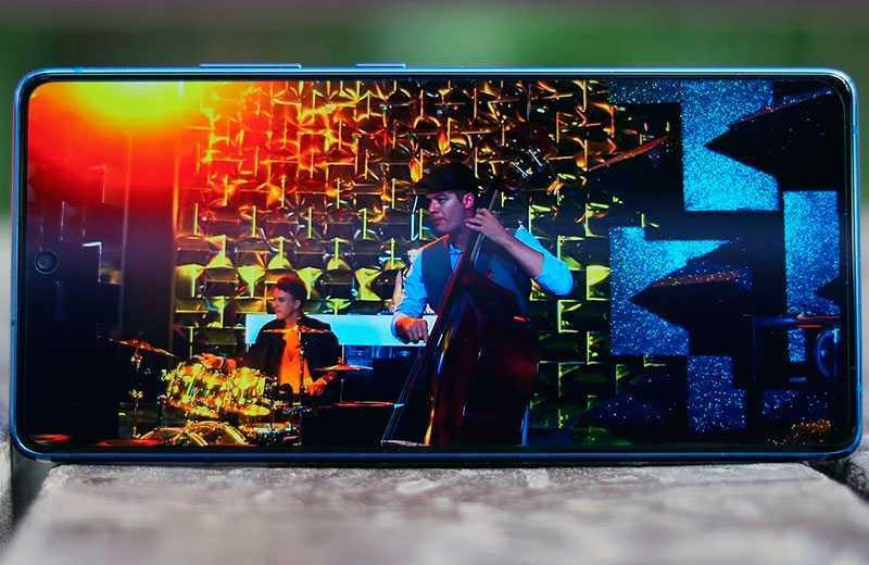 Samsung Galaxy S10 Lite экран