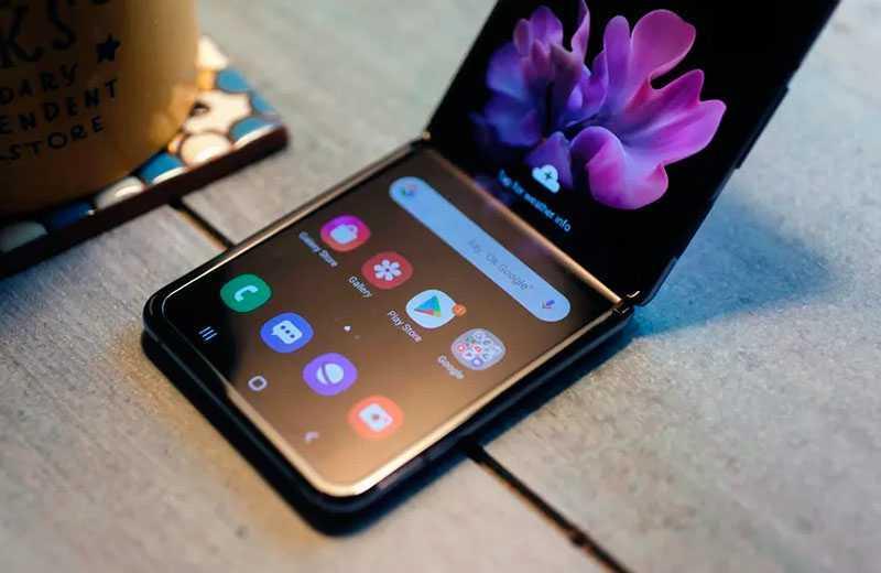 Samsung Galaxy Z Flip дизайн