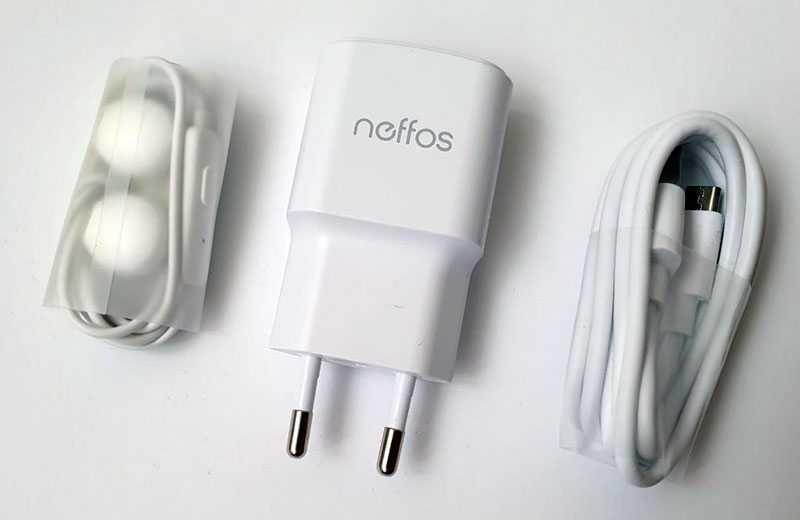 TP-Link Neffos C9S из коробки