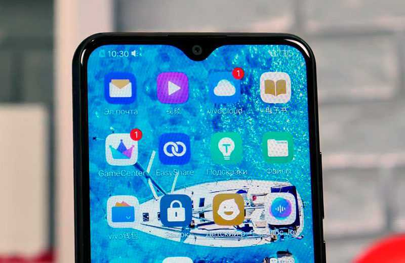 Vivo U3X экран