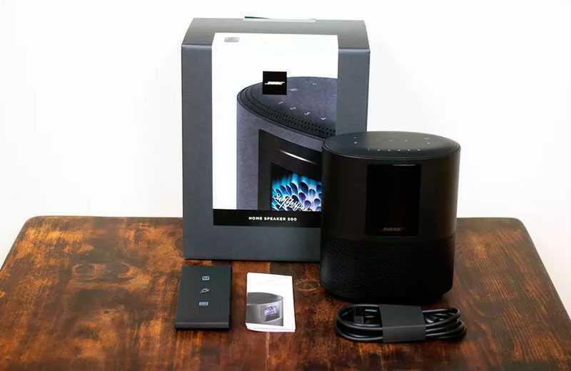 Bose Home Speaker 500 из коробки
