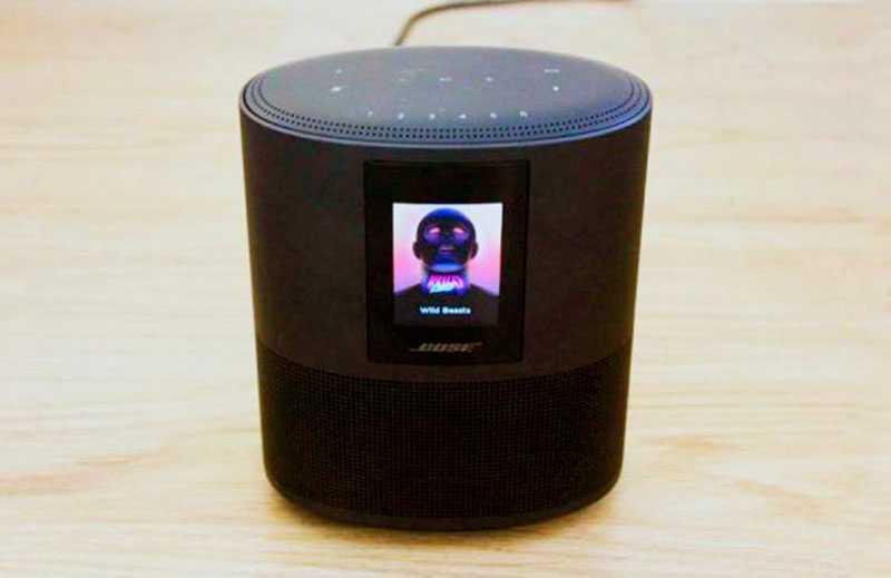 Bose Home Speaker 500 экран