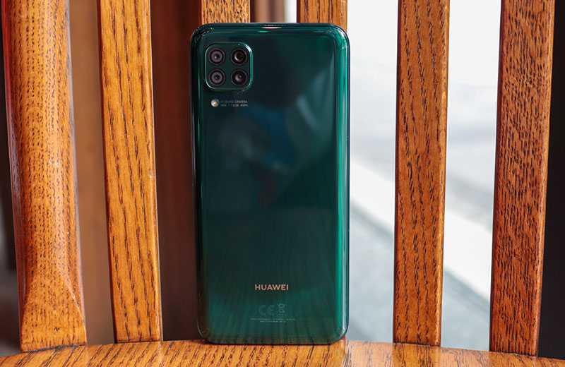 Huawei Nova 7i камера