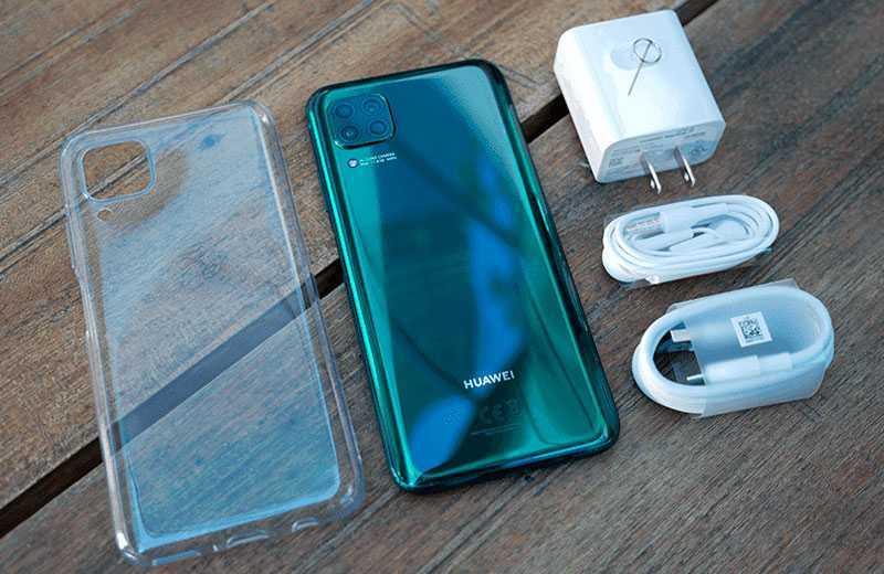 Huawei Nova 7i из коробки