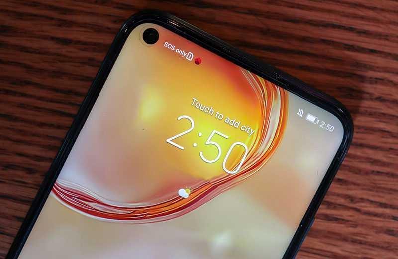 Huawei Nova 7i дисплей