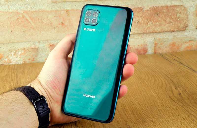 Huawei P40 Lite камера
