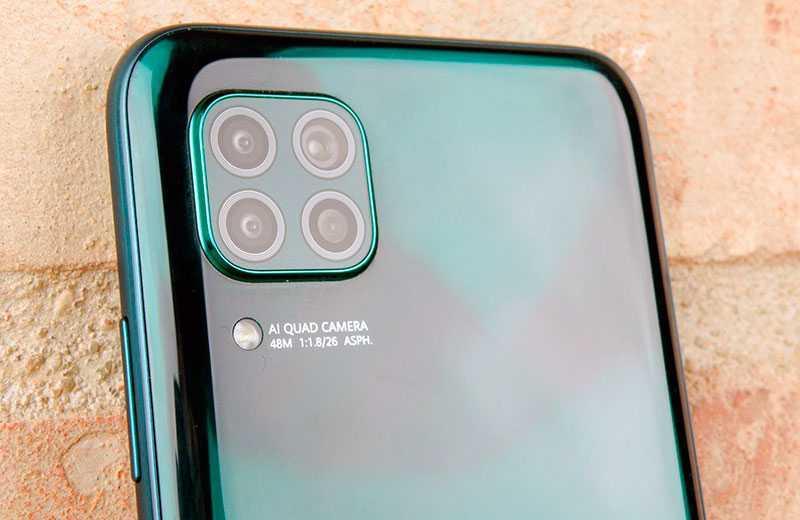 Камеры Huawei P40 Lite