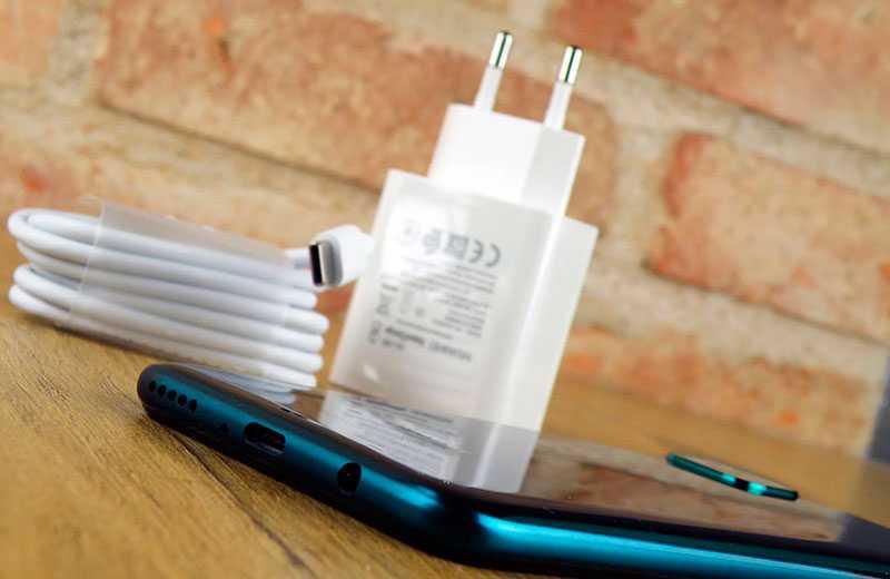 Автономность Huawei P40 Lite и зарядка