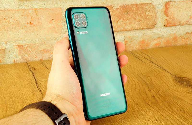 Huawei P40 Lite дизайн