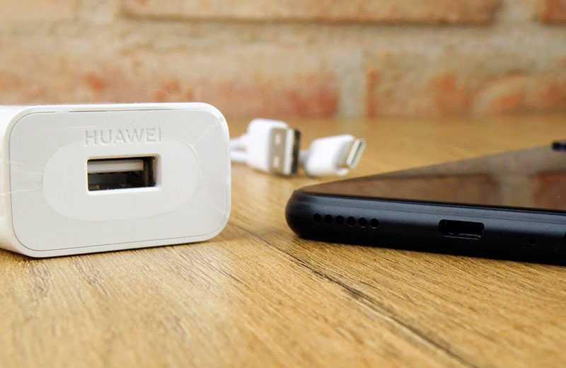 Huawei P40 Lite E зарядка