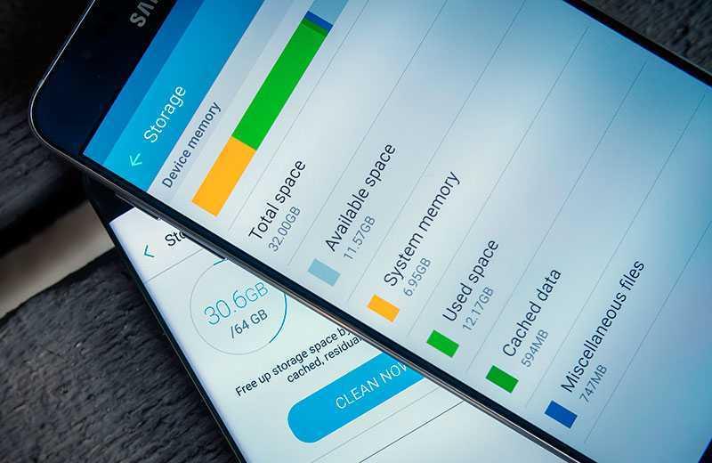 Как почистить память телефона Android