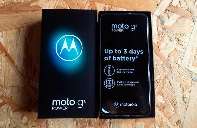 Характеристики Motorola G8 Power