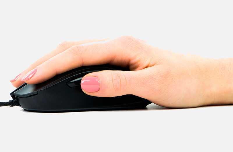 Palm Grip — ориентирован на скорость и комфорт