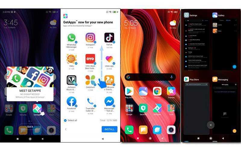 Xiaomi Redmi Note 9 Pro ПО