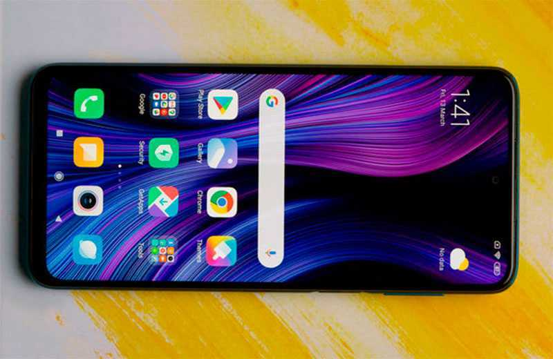 Xiaomi Redmi Note 9 Pro экран