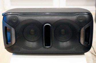 Обзор колонки Sony GTK-XB72 для дома и вечеринок — Отзывы TehnObzor