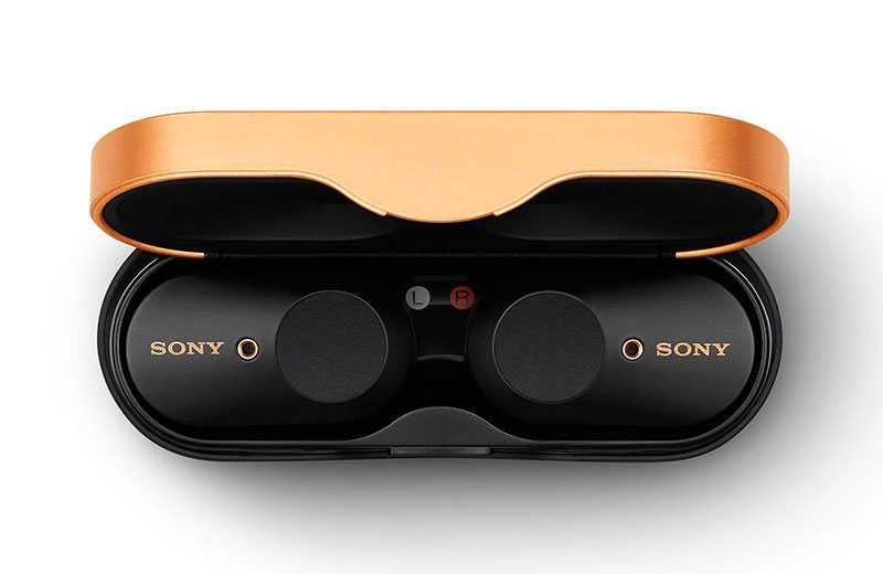 Sony WF-1000XM3 — маленькие наушники sony с активным шумоподавлением