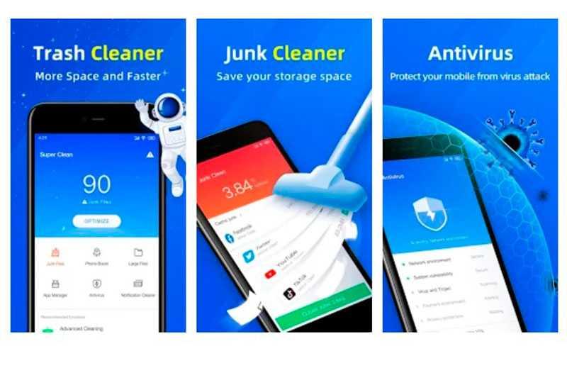 Super Clean — Master of Cleaner, Antivirus