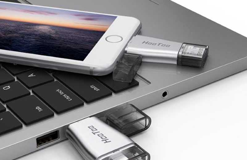 Можно ли подключить USB-флешку к iPhone?