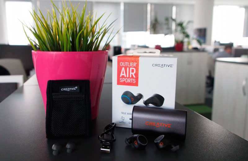 Creative Outlier Air Sports обзор