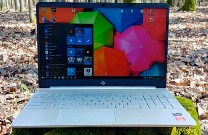 HP 15s дисплей