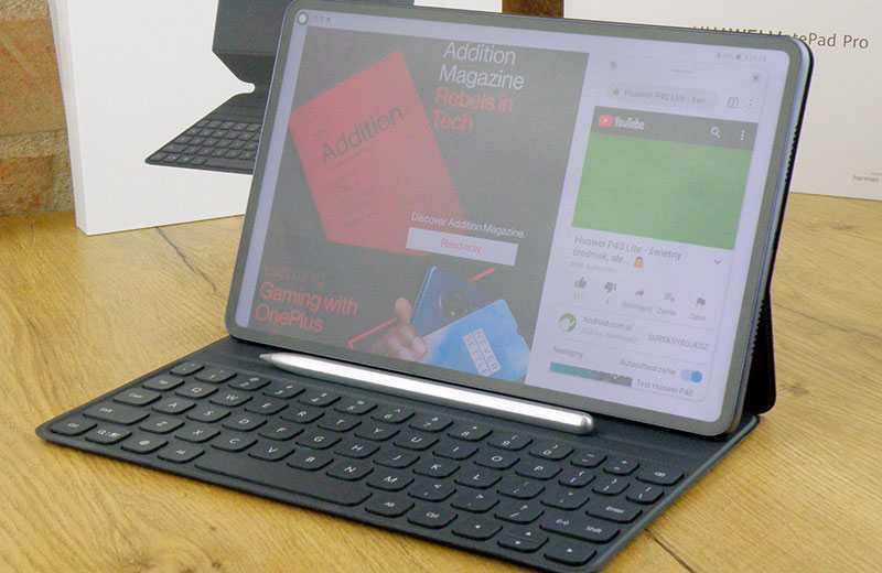 Huawei MatePad Pro дисплей