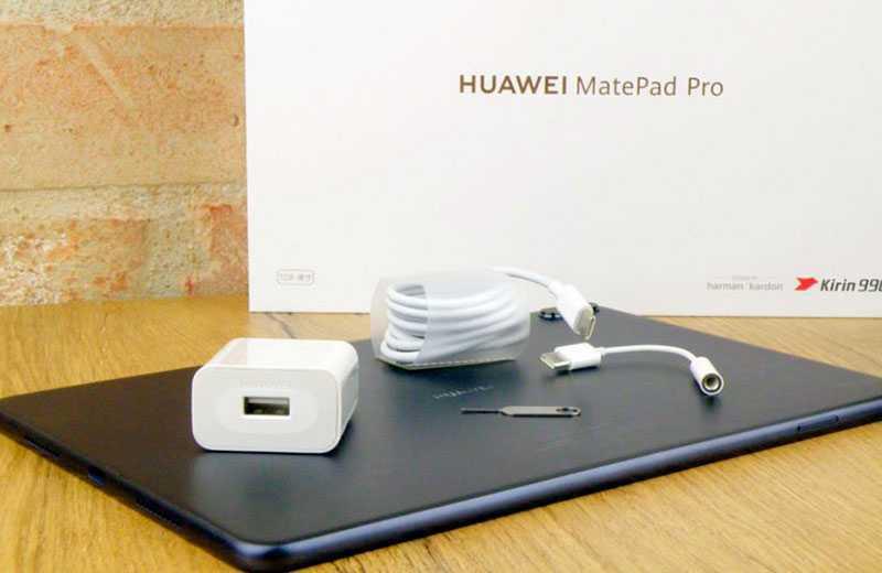 Huawei MatePad Pro из коробки