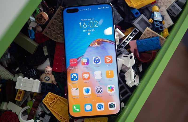 Huawei P40 Pro экран