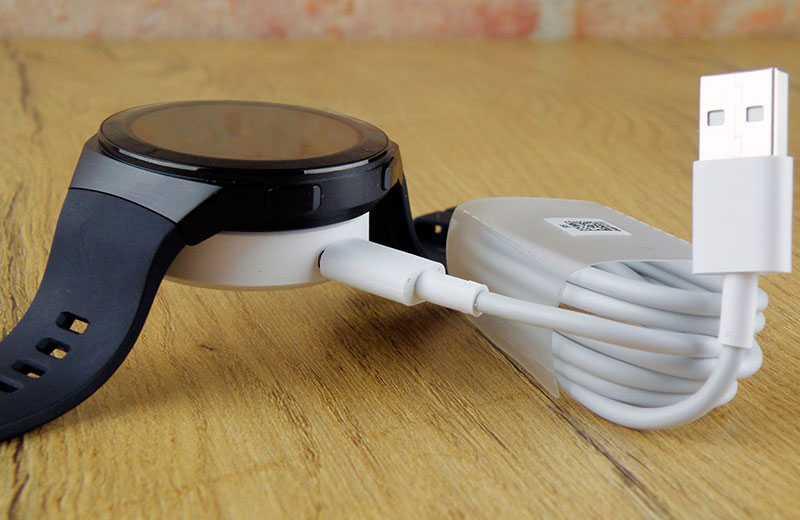 Huawei Watch GT 2e зарядка
