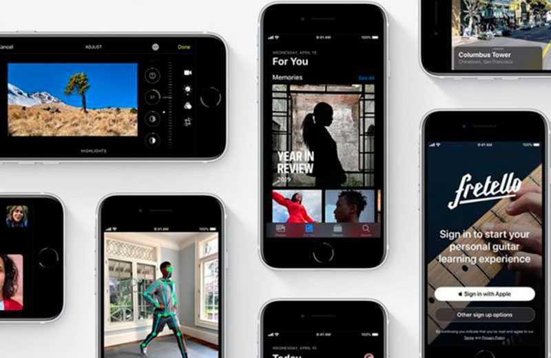 Функции IPhone SE 2020
