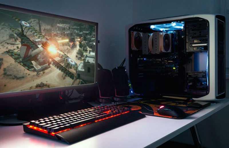 Собрать игровой компьютер