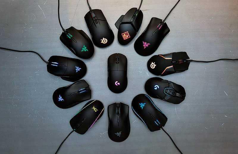 Игровая мышь до 4 000