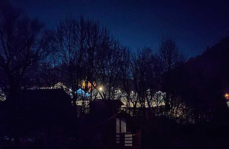 Nubia Red Magic 5G ночная съёмка