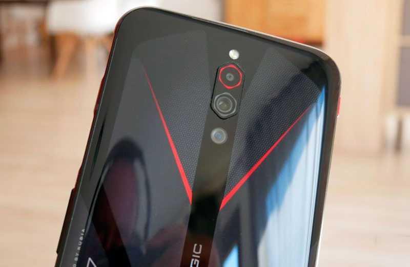Камера Nubia Red Magic 5G