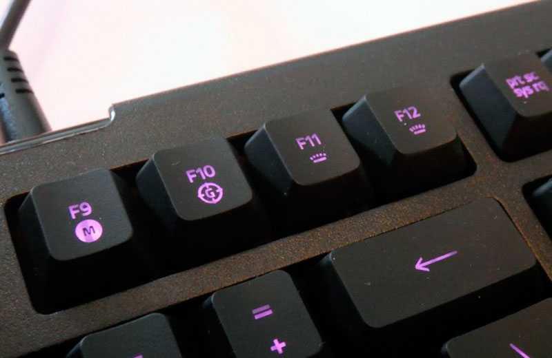 Кнопки Razer Cynosa Lite