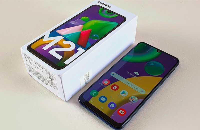 Samsung Galaxy M21 из коробки